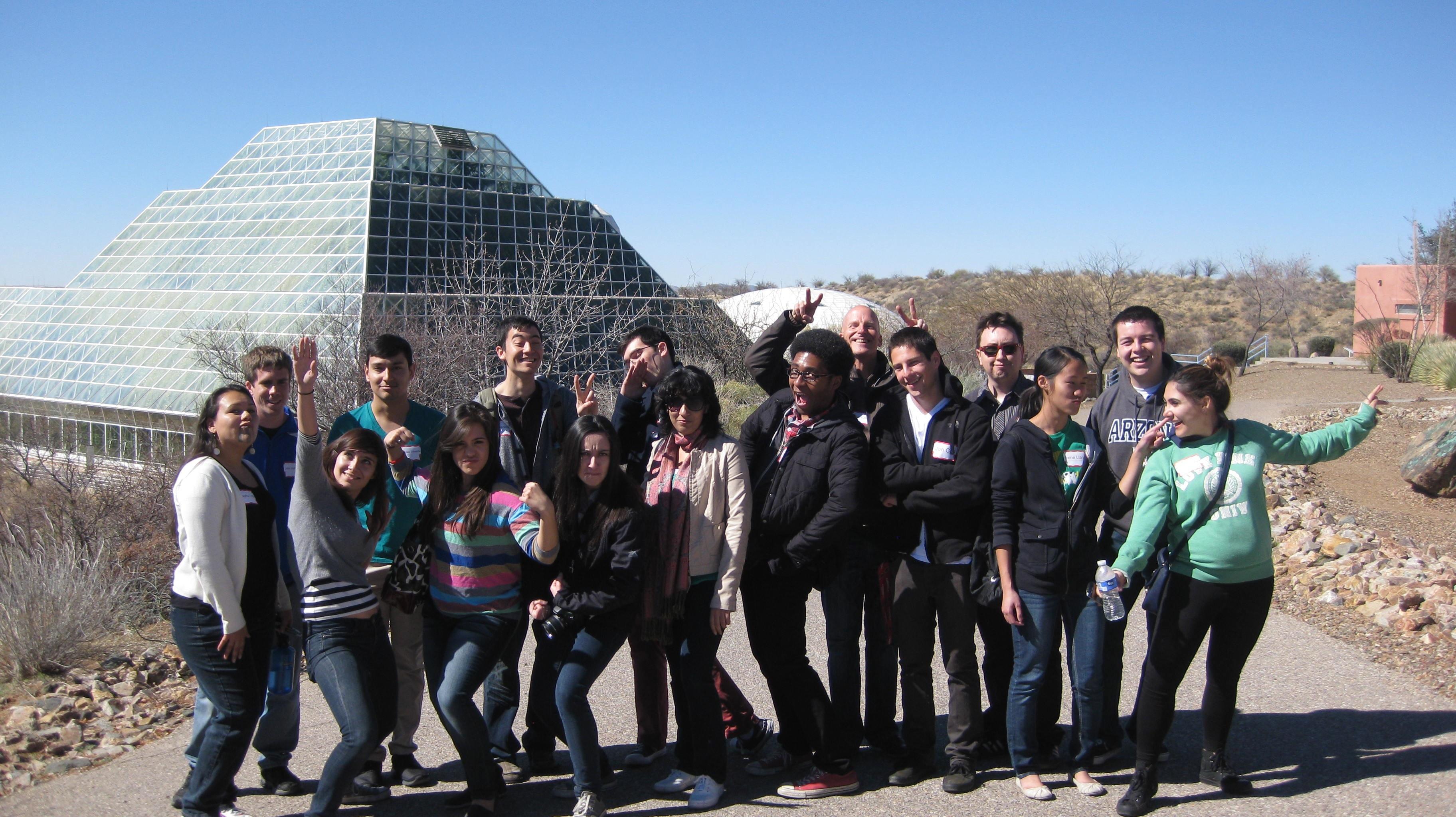 2012 Space Grant Interns at Biosphere2