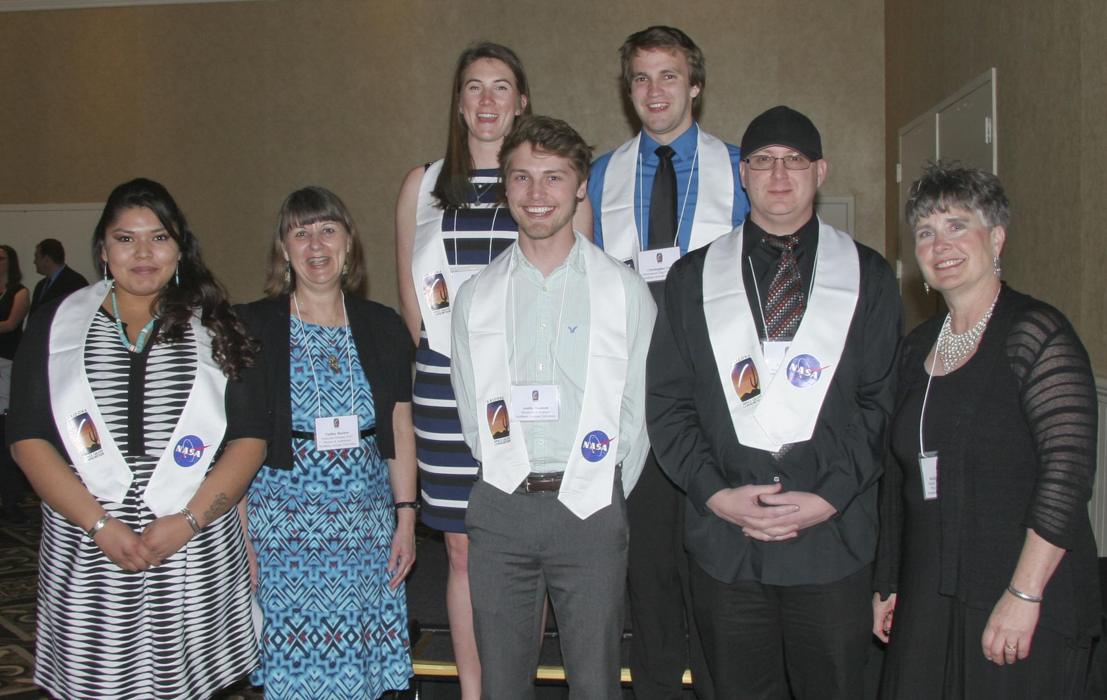 2016 Space Grant Symposium Banquet: NAU Graduating Interns