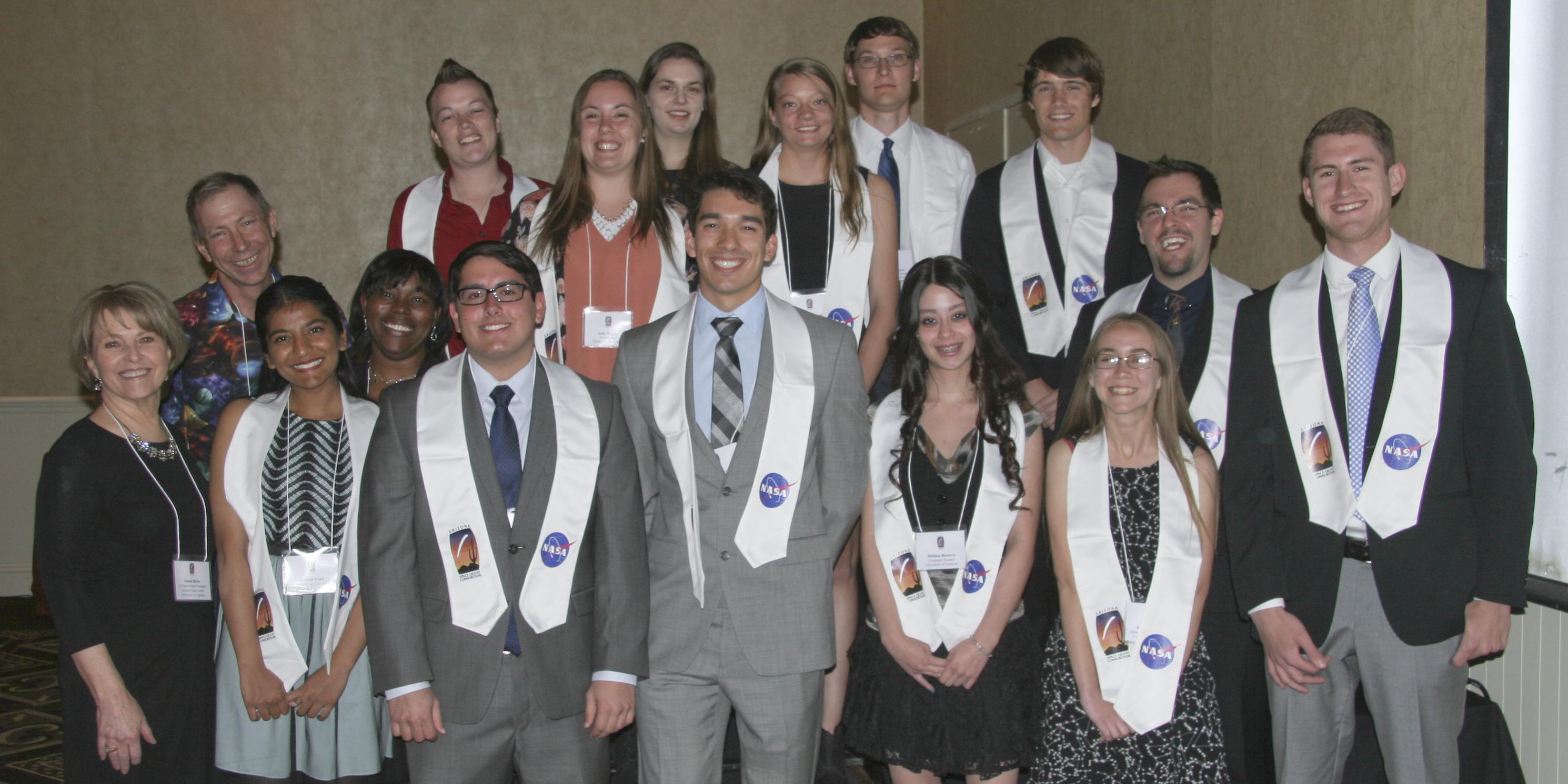 2016 Space Grant Symposium Banquet: UA Graduating Interns