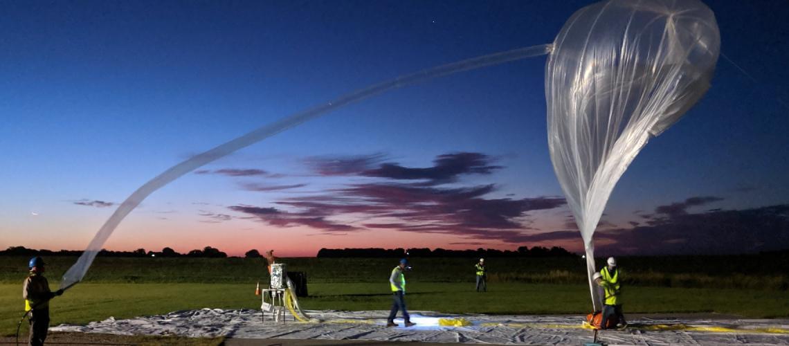 NASA/Raven Aerostar BalloonSat Launch