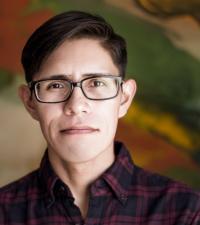 Portrait of Aaron Goldtooth