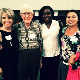 """Space Grant Managers and Students Attend """"Desert Moon"""" Premier at Flandrau Planetarium and Science Center"""