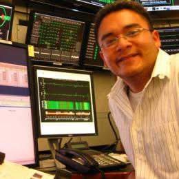 Eric Kiang Tse, 2001 NAU Space Grant Intern