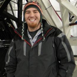 Gregory Mace, 2007 Space Grant Intern, 2008 NAU Grad