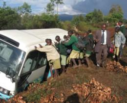 Physics on the (Dirt) Road in Kenya