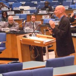 Space Grant Associate Director Barron Orr Picked for UN Panel