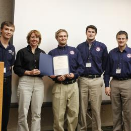Congrats on 2nd place in AIAA Student Team Papers Competition