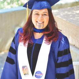 """Congratulations to Seafha Ramos, 2011 UA Space Grant Fellow, for her """"Outstanding Dissertation""""!"""