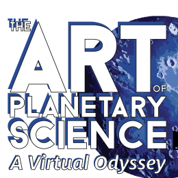 The Art of Planetary Science: A Virtual Odyssey. Online from Sept. 25-27. Promotional Banner.