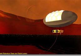 Space Grant Intern Artist Helps Scientists Envision Titan