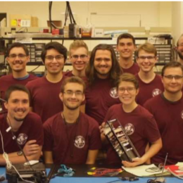 © Source: ASU Student scientists of ASU created a special satellite that can eventually help track things like a city's thermal temperature and climate change.