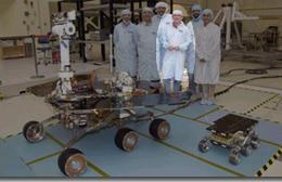 UA Intern in Driver's Seat of Mars Exploration Rover (MER)