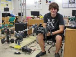 Student of the Year in Annual Creativity in Electronics Awards