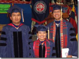 Three UA Navajo Students Graduate With Ph.D. Degrees in Engineering